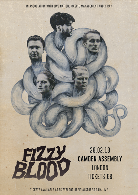 fizzy blood show poster
