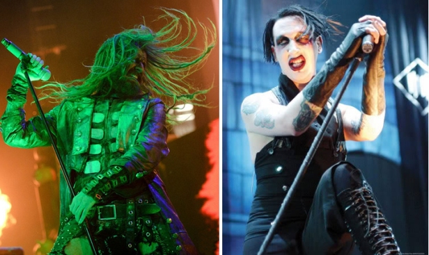 rob zombie marilyn manson twins of evil tour 2012 co-headling all access tickets october